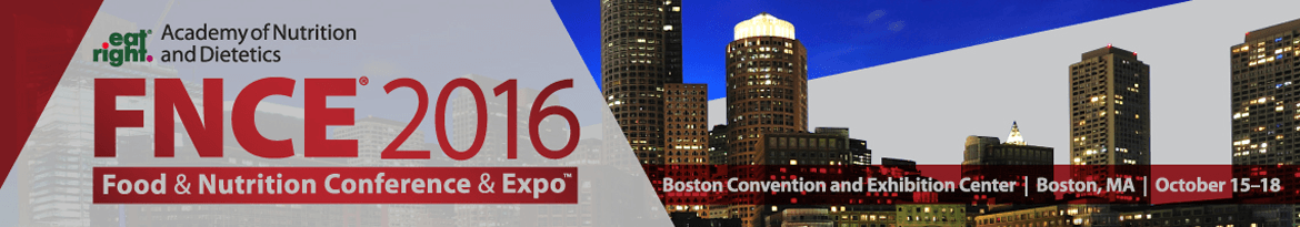 FNCE: Food & Nutrition Conference & Expo 2016