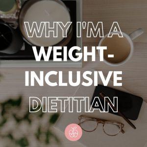 weight inclusive dietitian