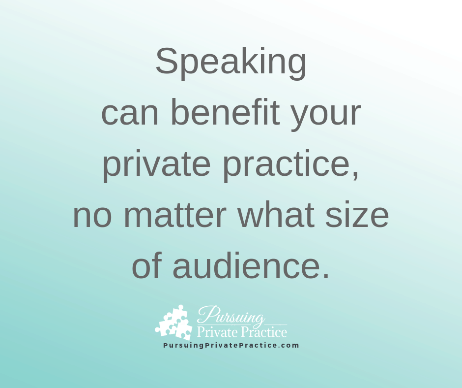 Professional Speaking Private Practice Dietitian Nutrition