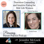 Pursuing Private Practice podcast Dietitian