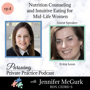 Pursuing Private Practice podcast Dietitian