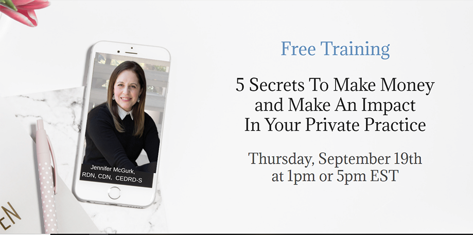 5 Secrets To Make Money and Make An Impact In Your Private Practice