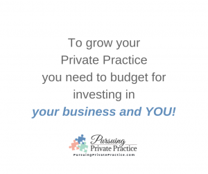 Pursuing Private Practice Intuitive Eating Investing Business Growth