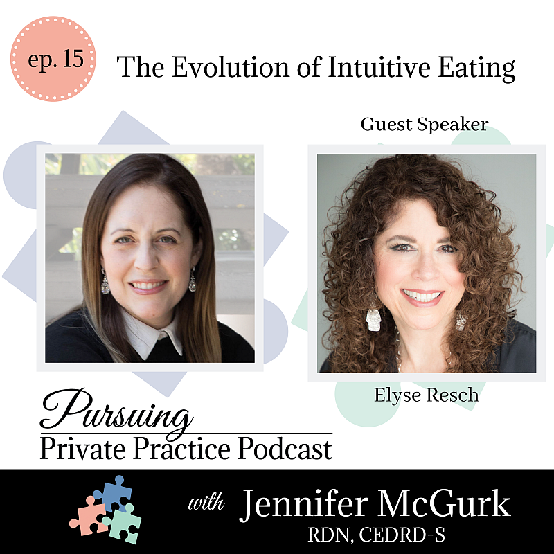 Pursuing Private Practice Podcast - The Evolution of Intuitive Eating