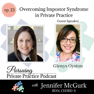 Pursuing Private Practice Podcast - Overcoming Imposter Syndrome