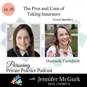 Pursuing Private Practice Podcast - The Pros and Cons of Taking Insurance