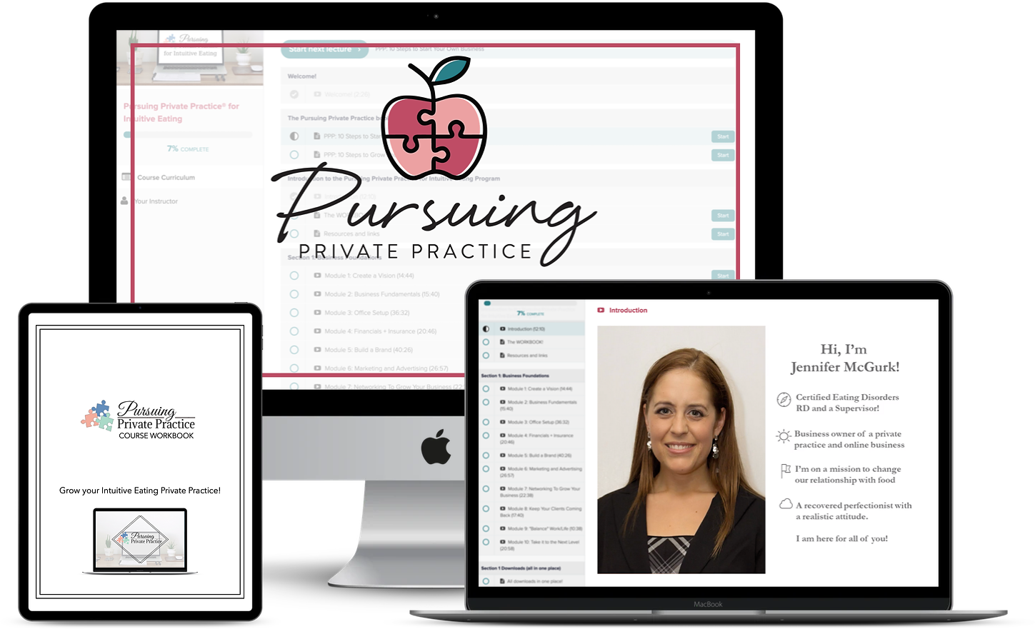 Pursuing Private Practice Course Mockup