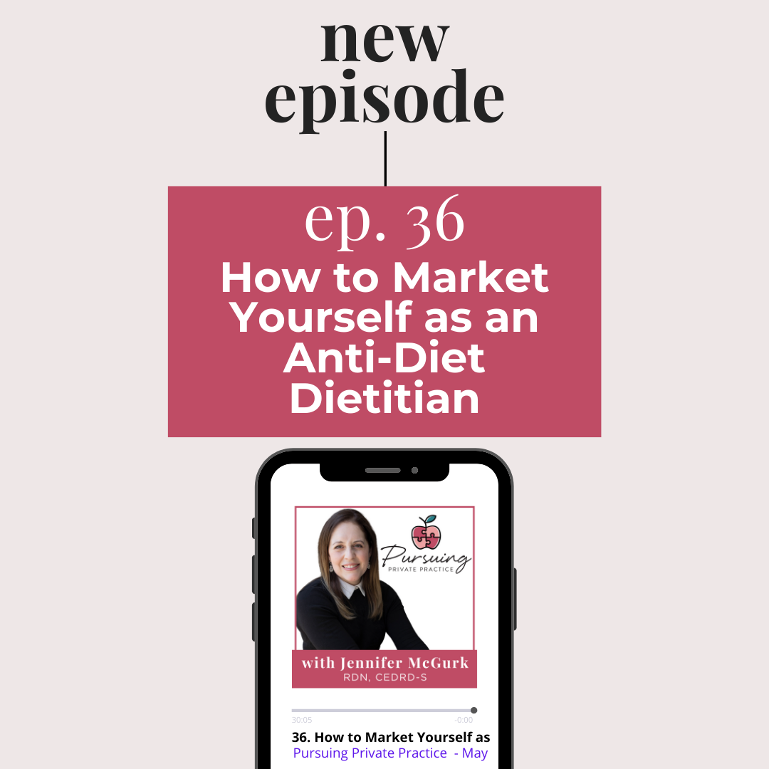 anti-diet dietitian marketing