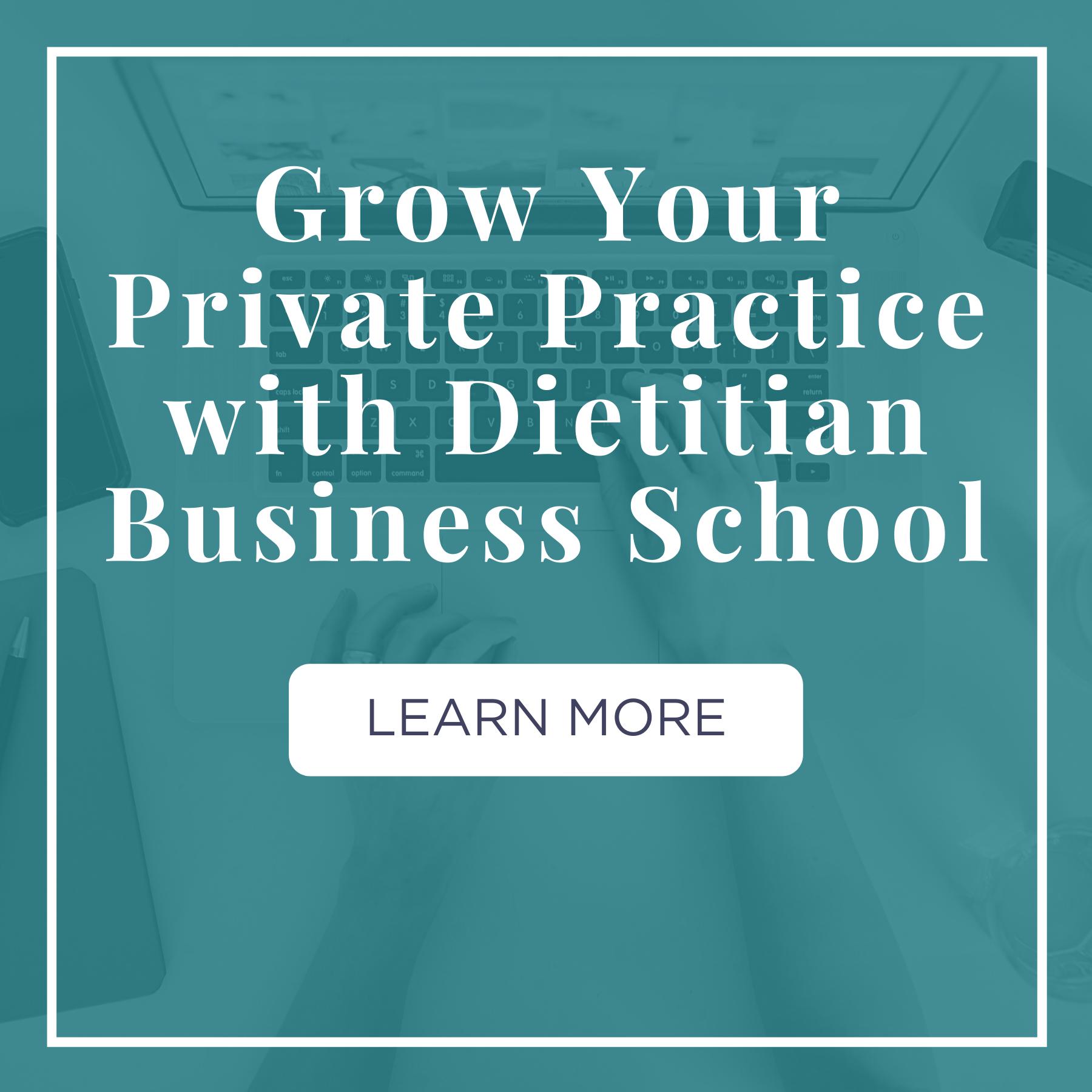 dietitian business school