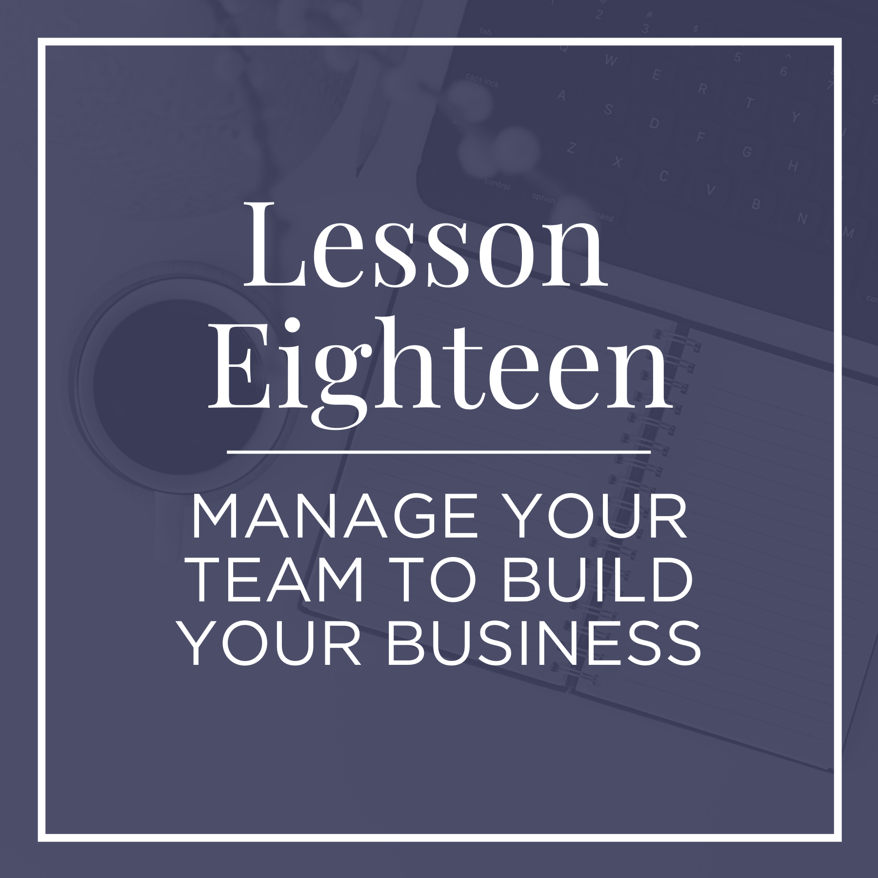 managing a team