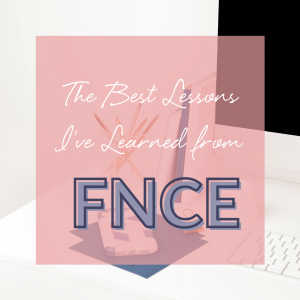 lessons learned fnce