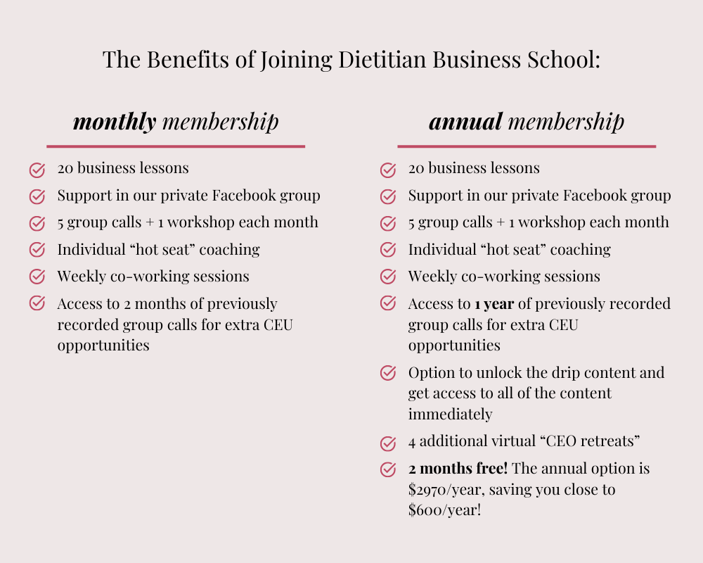 dbs membership options graphic
