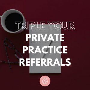 private practice referrals