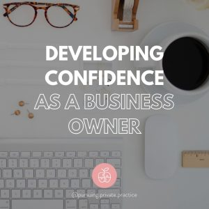developing confidence as a business owner