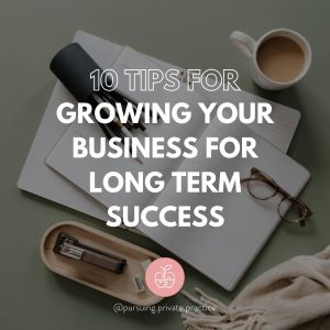growing your business for long term success